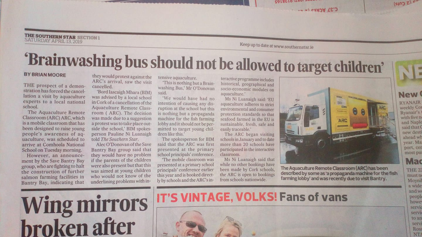 d8ca9b91e4 Southern Star Newspaper  Brainwashing bus should not be allowed to target  children