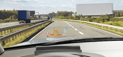 Continental's Augmented Reality Head-up Display