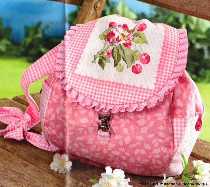 Японские сумки patchwork с выкройками. Japanese patchwork bags with patterns