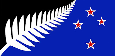 Kyle Lockwood silver fern flag