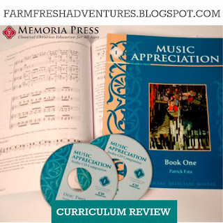 Music Appreciation 1 (Memoria Press)~ A Review