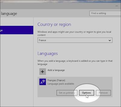 إضافة لغةAdd language على نظام ويندوز
