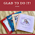 Glad To Do It! Books Review & Giveaway