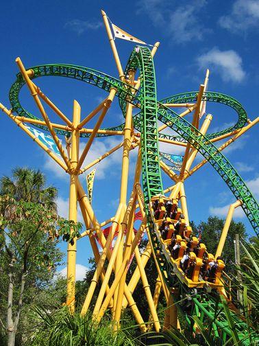 Busch Gardens, Tampa, Florida, USA