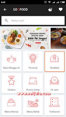 Cara Pesan Go-Food - Order Makanan Lewat Gojek