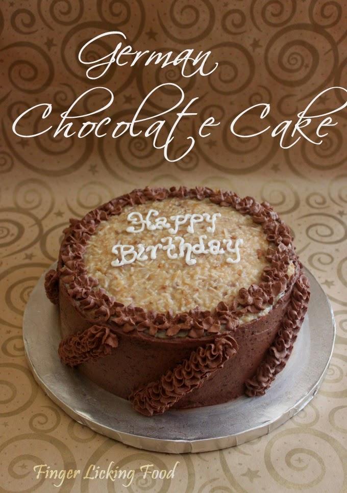 Mama German Chocolate Cake