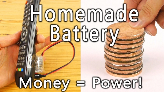 [How to:] Φτιάξε την δική σου μπαταρία με νομίσματα