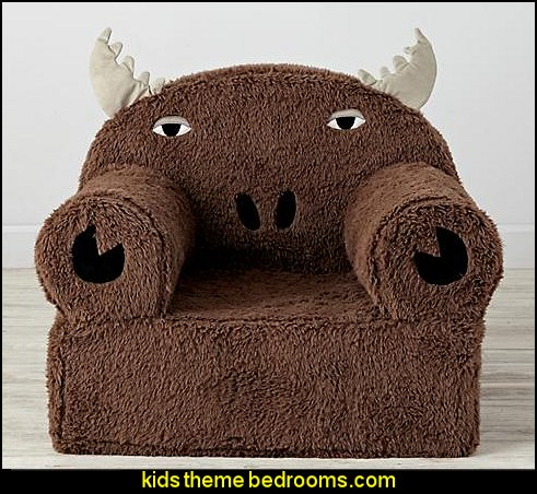 Moose Nod Chair  campiing wilderness bedroom furniture