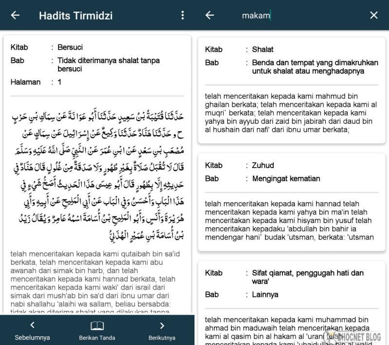 kitab hadits sahih at-tirmidzi gratis android - blog.dhocnet.work