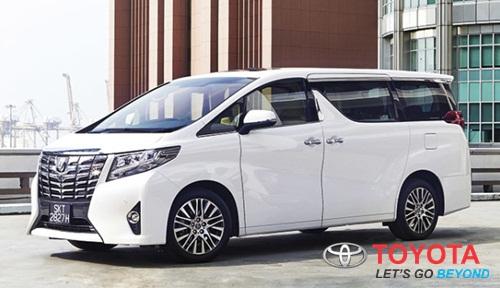 Update Harga Mobil Toyota Alphard Baru Semua Jenis 2016