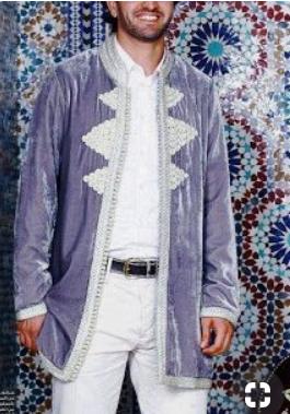 نماذج قفطان مغربي ستايل رجالي قمة في الروعة