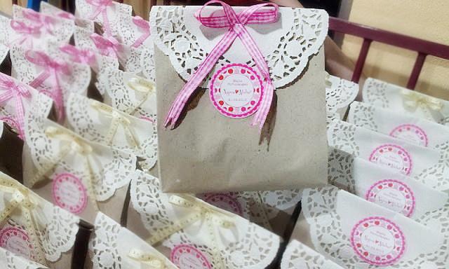 Wawa syaida door gifts majlis pertunangan for Idea door gift jimat