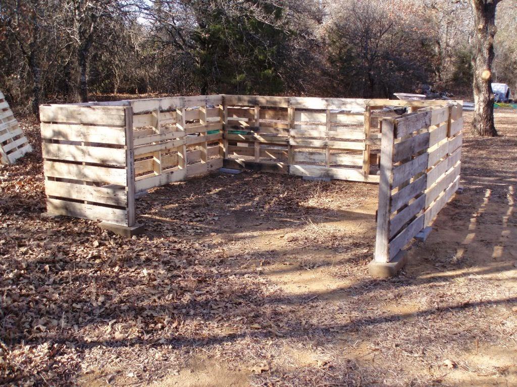 Αποθήκη 3.50 χ 3.50 φτιαγμένη από παλέτες ( pallet shed )