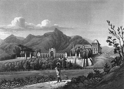 Resultado de imagem para quinta da boa vista em 1820