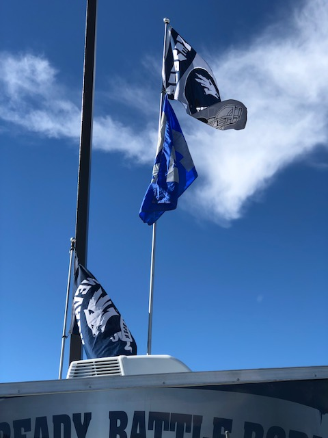 Nevada Wolf Pack tailgate