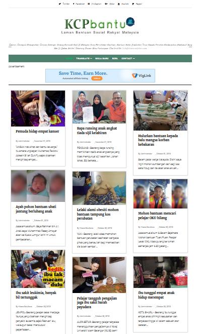 KCPbantu.org - Laman Bantuan Sosial Rakyat Malaysia