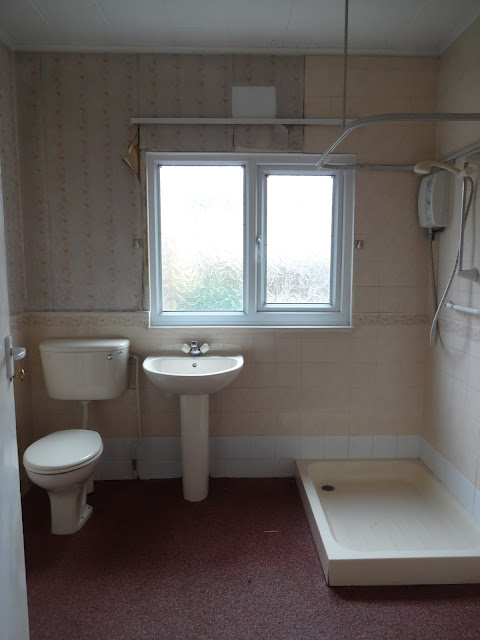 old downstairs shower room