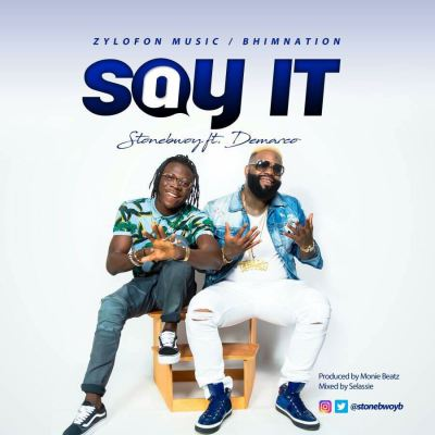Stonebwoy partners Demarco for #SayIt
