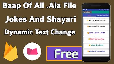 Jokes And Shayari App Aia File Free Makeroid - GrowAppIndia