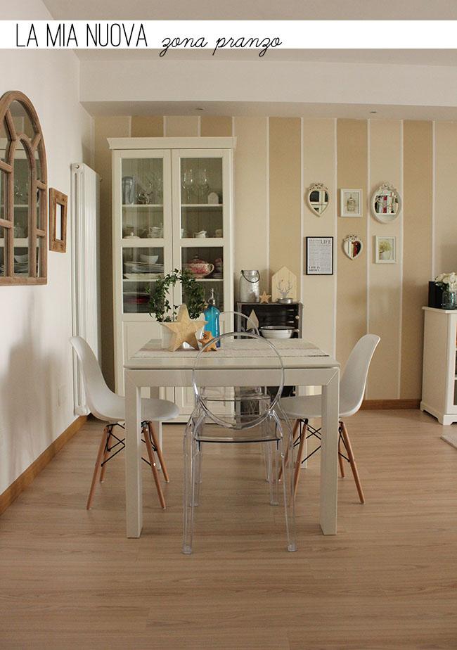 La mia nuova zona pranzo home shabby home arredamento for Zona pranzo design