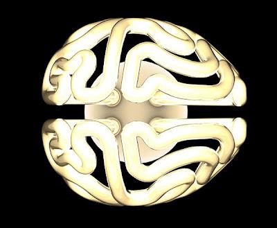 Focos Ahorradores con diseño en forma de cerebro
