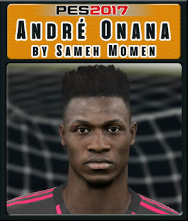 PES 2017 Faces André Onana by Sameh Momen