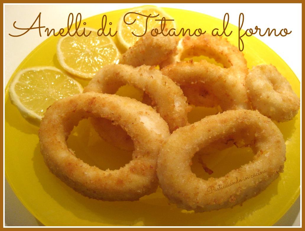 vasto assortimento nuova alta qualità godere di un prezzo economico Pasticciando in cucina: Anelli di Totano al forno...che si ...