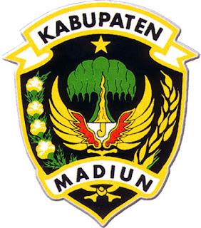 dan Kota Madiun sendiri dibagi menjadi  15 Nama Kecamatan di Kabupaten Madiun dan 3 Nama Kecamatan di Kota Madiun