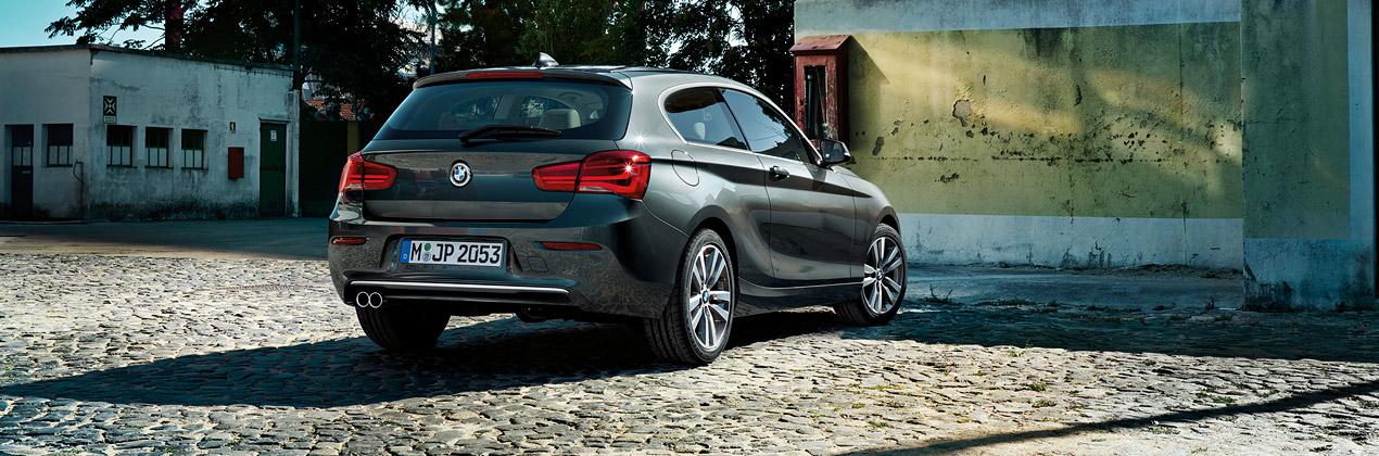 Bagagliaio BMW Serie 1 (3 porte): capacità volumetrica in litri