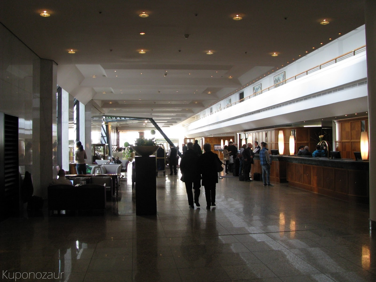 InterContinental Berlin lobby