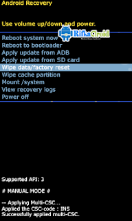 Recovery Samsung Galaxy A3 (2016)