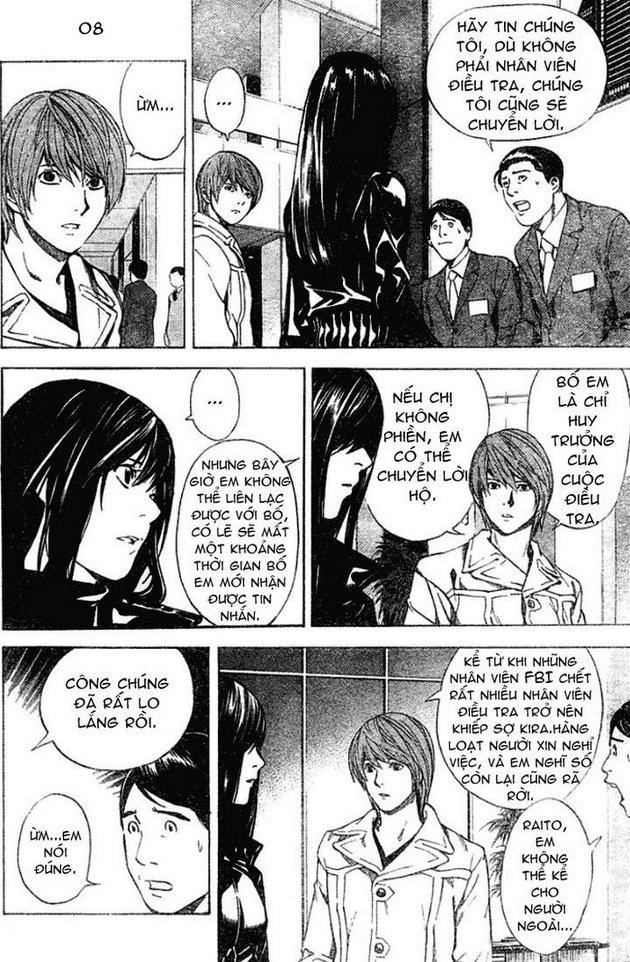 Death Note chapter 012 trang 9