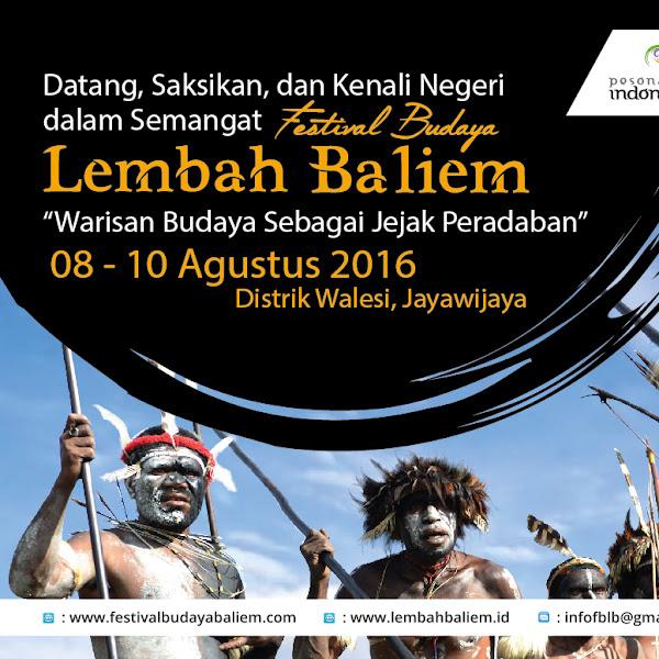 Pesona Budaya di Lembah Baliem, Papua