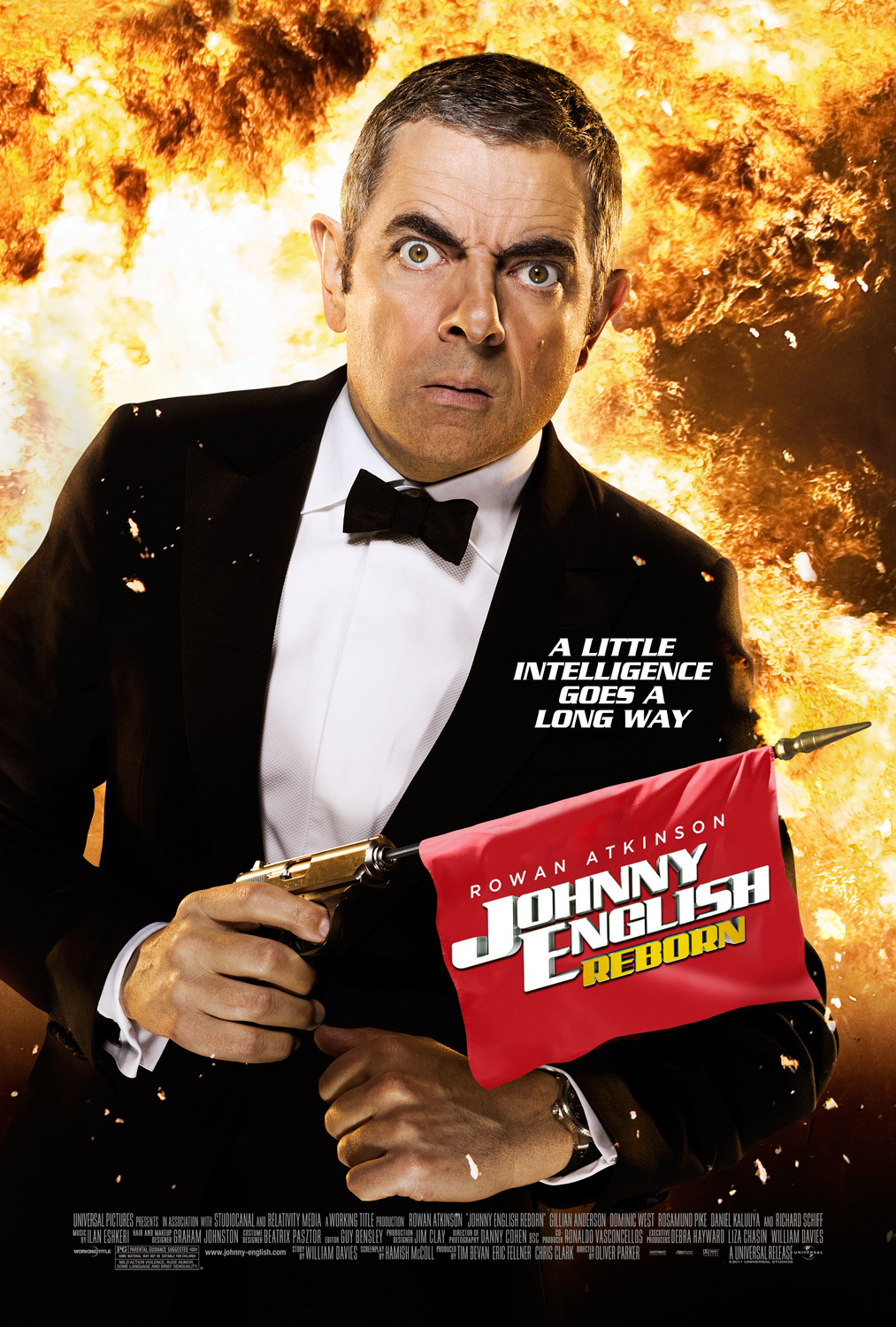 "Movie Review: ""Johnny English Reborn"" (2011)"