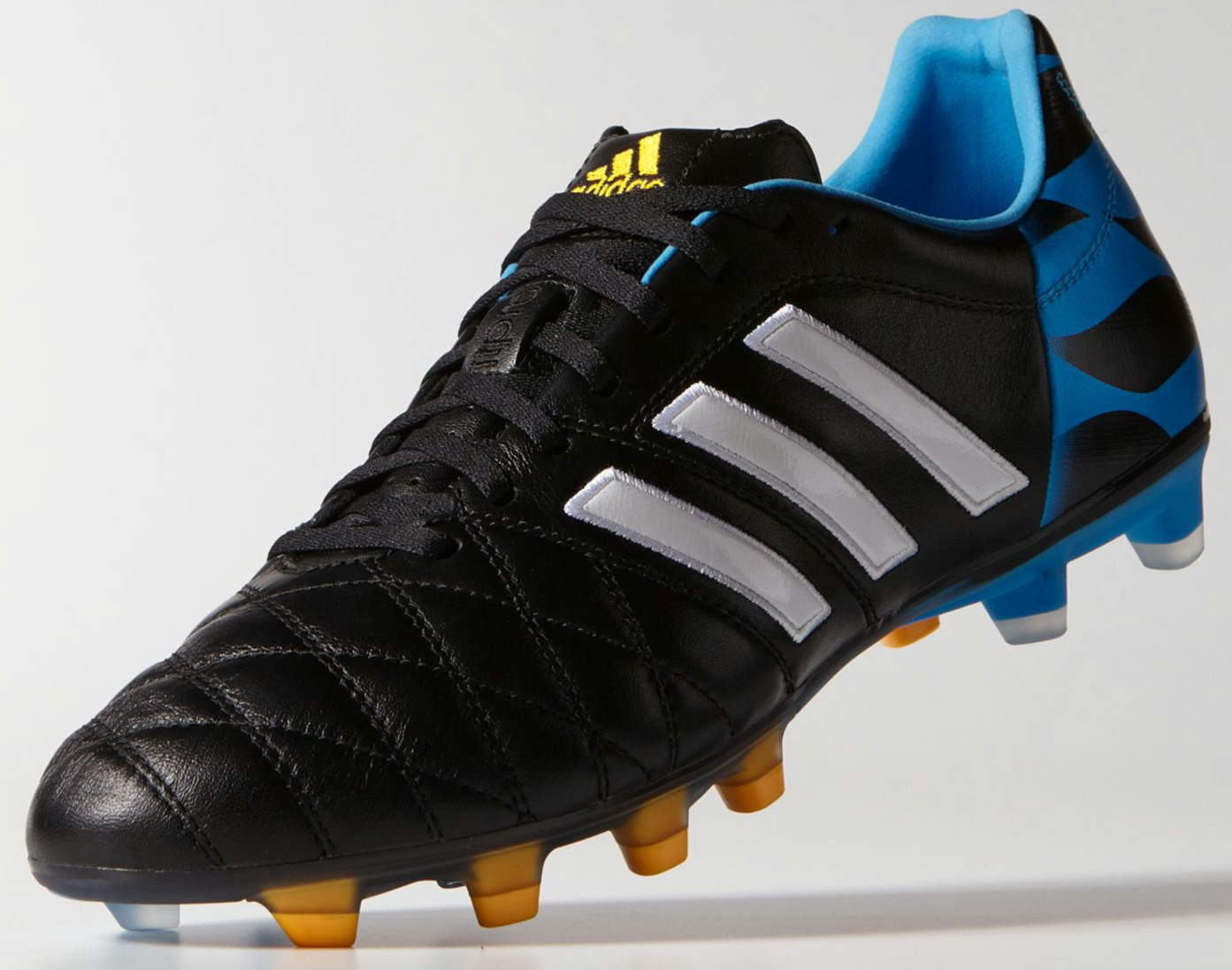 Adidas Adipure Black / Solar Blue / Running White. This is the new black  Adidas Adipure 11pro 2014-2015 Football Boot ...