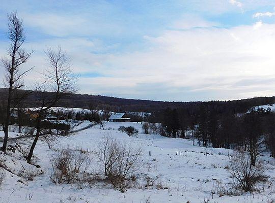 Spojrzenie na stoki Mareszki.