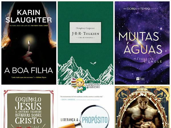Lançamentos: HarperCollins Brasil (incluindo Harlequin Books)