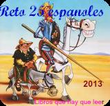 Desafío Cargada con libros: 25 españoles 2013