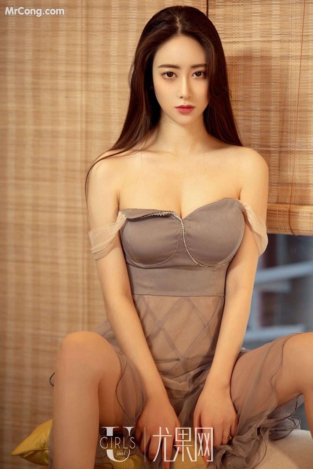 Image UGIRLS-U309-Mu-Fei-Fei-MrCong.com-005 in post UGIRLS U309: Người mẫu Mu Fei Fei (穆菲菲) (64 ảnh)
