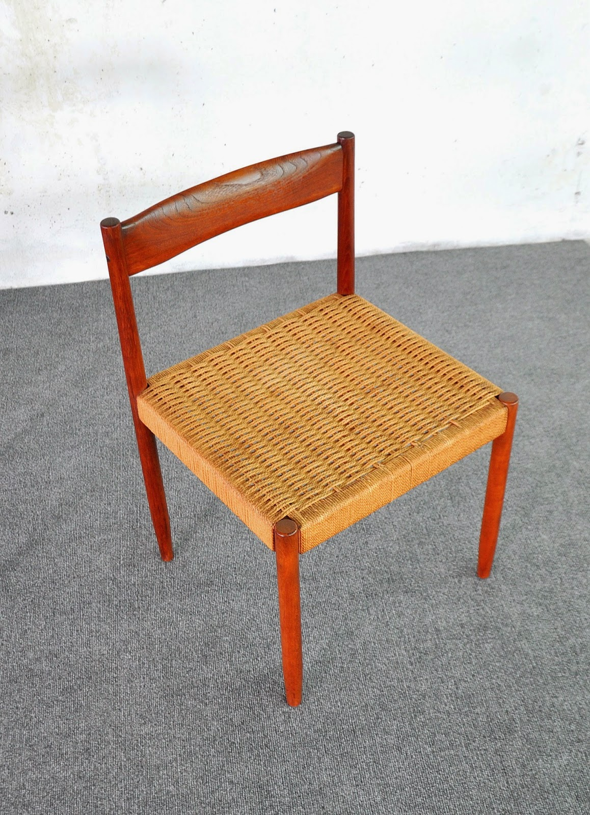 Select Modern Danish Modern Teak Dining Chairs