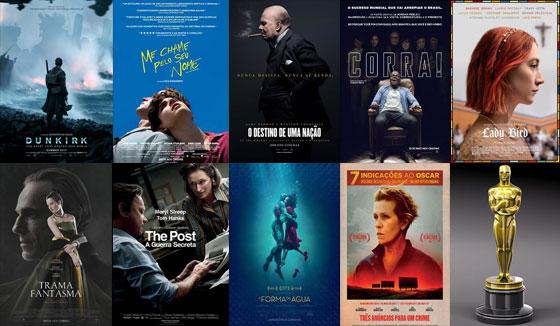 Melhor Filme - Oscar 2018