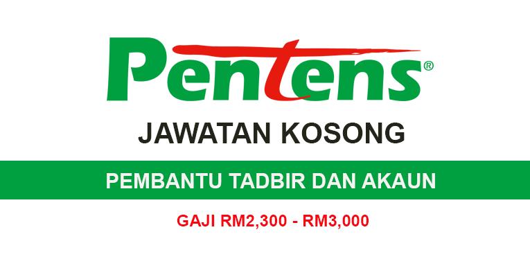 Kekosongan Jawatan Terkini Di Pentens Holdings Sdn Bhd Pembantu Tadbir Dan Akaun Gaji Rm2 300 Rm3 000 Semakjawatan Com Jawatan Kosong Terkini