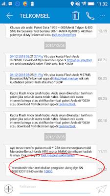 Buti Pembayaran Pulsa Gratis dari Aplikasi Dent Android