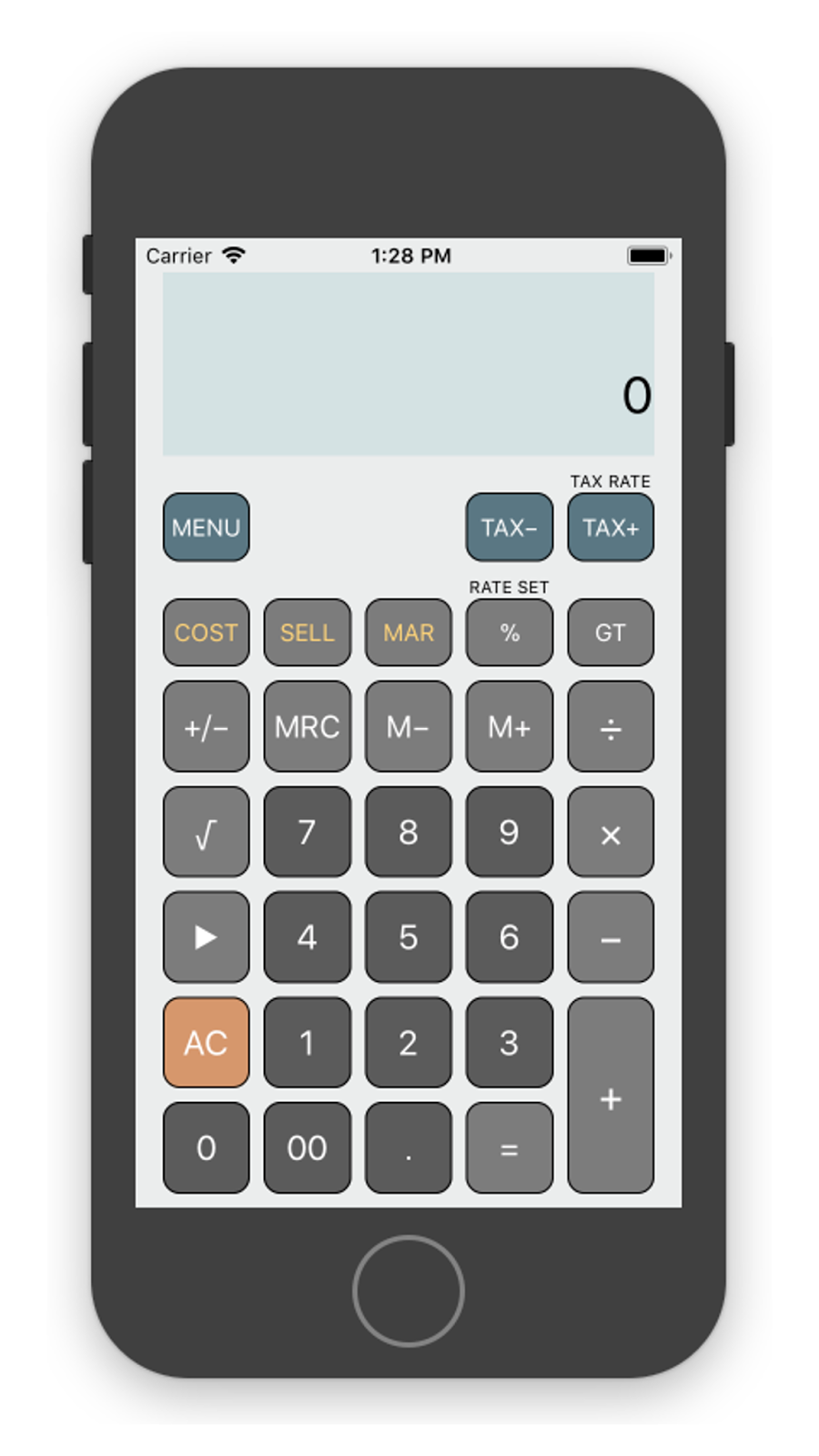 A Fully Working Emulator Of Casio Calculator Model Dm 1200bm Ms 120bm The Includes Tax And Business Functions Which Is Very Useful For