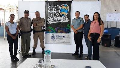 ARAGUATINS - ALUNOS DO CPM VI REALIZAM MOBILIZAÇÃO DO GRÊMIO ESTUDANTIL