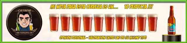 Valoración cerveza MARINA Summer Ale