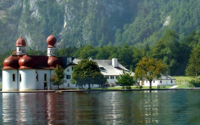 Königssee- Kościółek Bartholomä