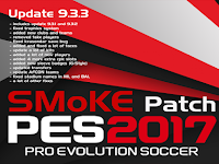Update Patch PES 2017 dari SMoKE V9.3.3