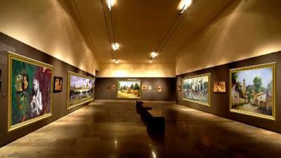 museo, iluminación, regulación de temperatura