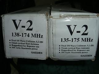 ANTENNA TELEX GAZDEN V-2 ~ SAE HOBBIES communication jual ...